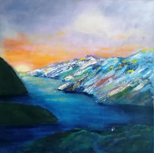 Lys i fjord - Nete Thomsen (1)
