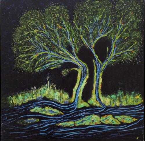 Nete Thomsen, Træer eller floder i fugleperspektiv