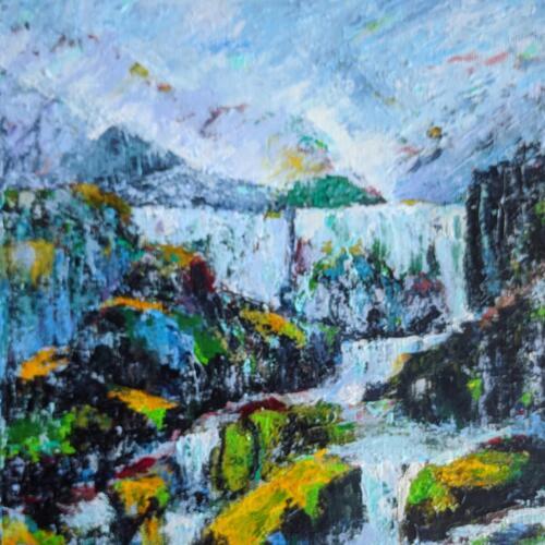 Vandfald  Island - Nete Thomsen